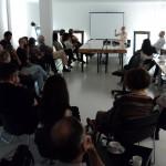 Ambiente durante a apresentação